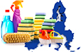 Cleaning products industry in Europe statistics