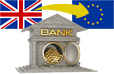 Brexit relocation of London banks and finance to Europe statistics