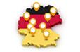 Europäische Metropolregionen in Deutschland Statistiken
