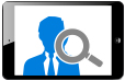 Online-Recruiting statistics