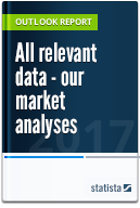 Over 200 reports from the Statista Market Outlooks