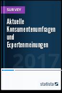 Statistiken zu aktuellen Konsumentenumfragen und Expertenmeinungen