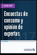 Estadísticas sobre estudios de consumidores actuales y opiniones de los expertos